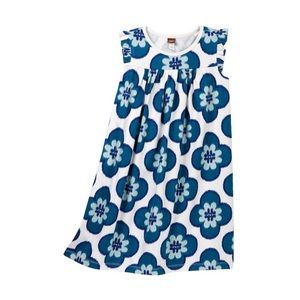 ⭐️Tea Collection Sedap Malam Dress Blue Flower 10